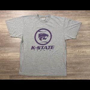 Vintage 90s Nike Team Sports K State Tennis Shirt